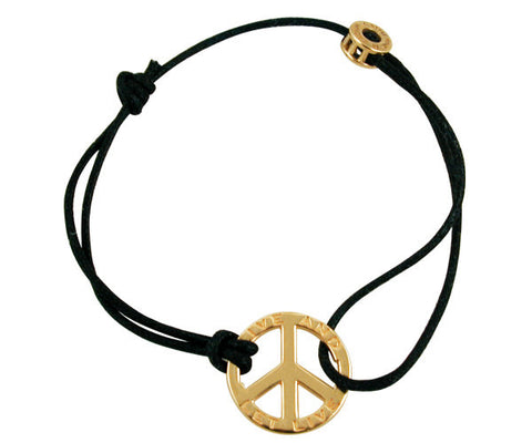 Catherine M. Zadeh - Peace SM /18 K Yellow Gold-allforher.com