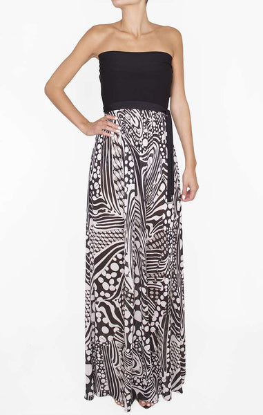 Shan - Adele Long Dress-allforher.com
