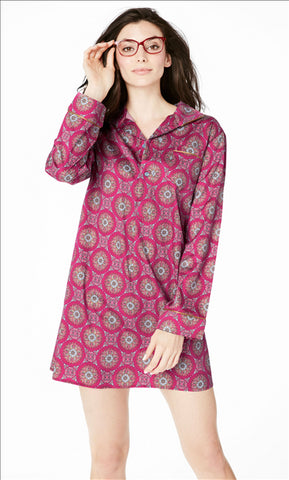 Bed Head - Pleated Nightshirt-allforher.com