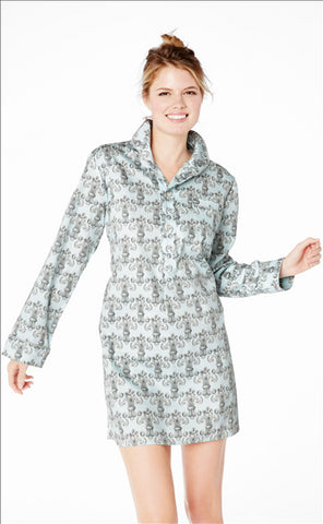 Bed Head - Sateen Night Shirt-allforher.com
