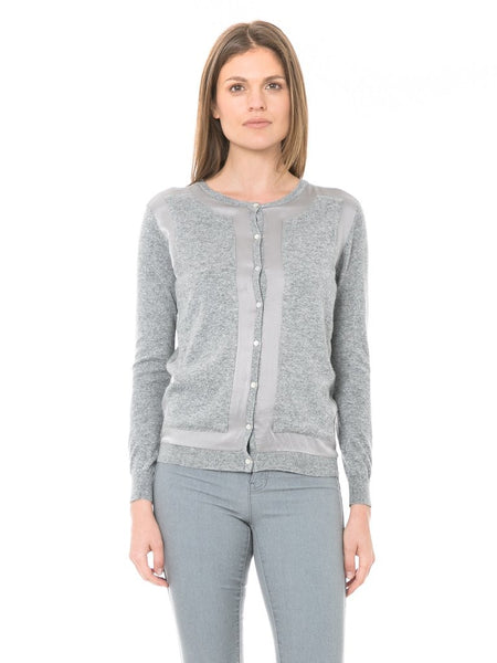 Zero Degrees Celsius - Silk Cardigan-allforher.com
