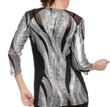 Lynn Ritchie - Sequin Neck Top-allforher.com