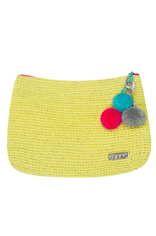 Caffee Swimwear - Pompoms Bag-allforher.com