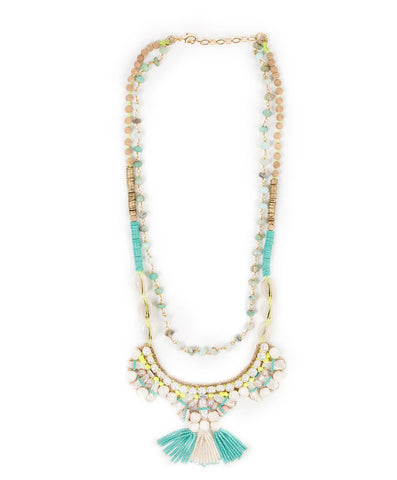 Deepa Gurnani - Shell Necklace-allforher.com