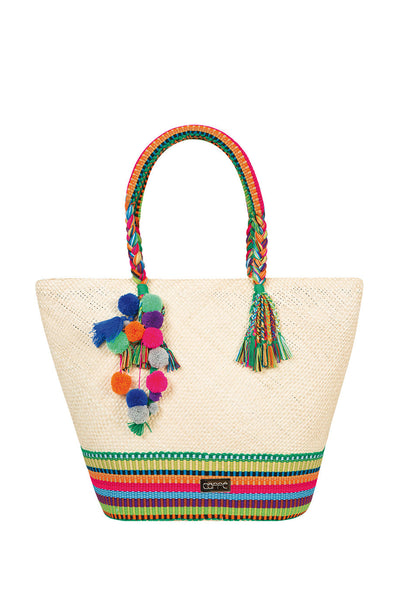 Caffee Swimwear - Natural Iraca Bag-allforher.com