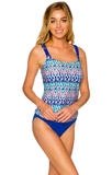 Sunsets - Big Sur Braided Underwire Tankini-allforher.com