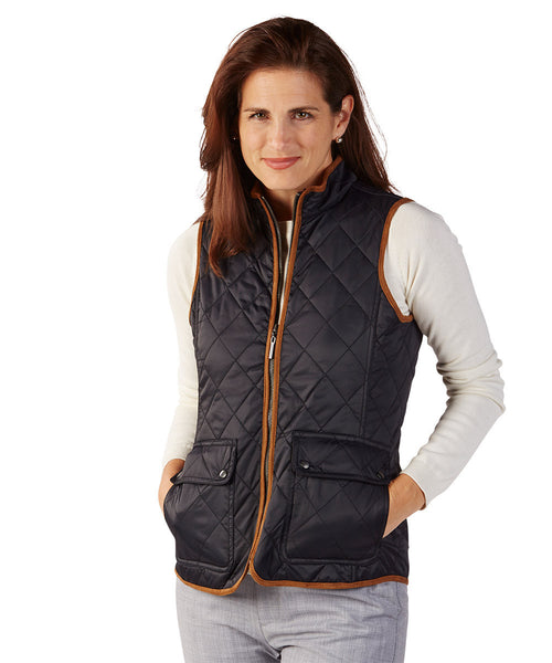 Bobby Jones - Full Zip Vest-allforher.com