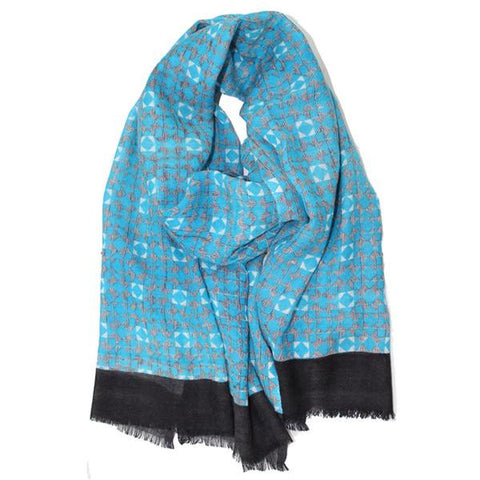 LA FIORENTINA SCARVES - Abstract Print Scarf-allforher.com