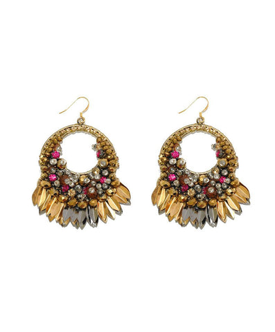 Deepa Gurnani - Levi Earrings-allforher.com