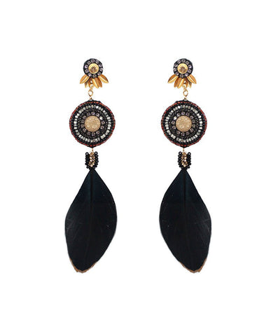 Deepa Gurnani - Ester Earrings-allforher.com