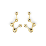Logan Hollowell - Star Set Earrings-allforher.com