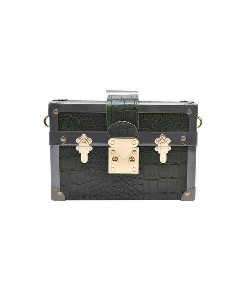 La Regale - Crocodile Crossbody-allforher.com