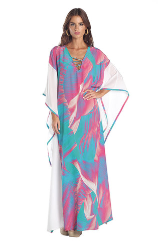 Caffee Swimwear - Long Kaftan-allforher.com
