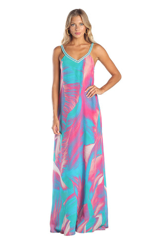 Caffee Swimwear - Long Dress-allforher.com