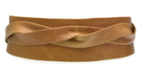 Ada - Wrap Belt - Tan-allforher.com