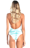 Caffee Swimwear - Print One Piece-allforher.com