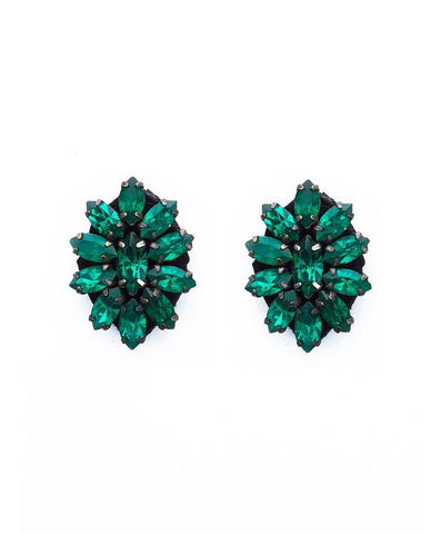 Deepa Gurnani - Floret Earrings-allforher.com