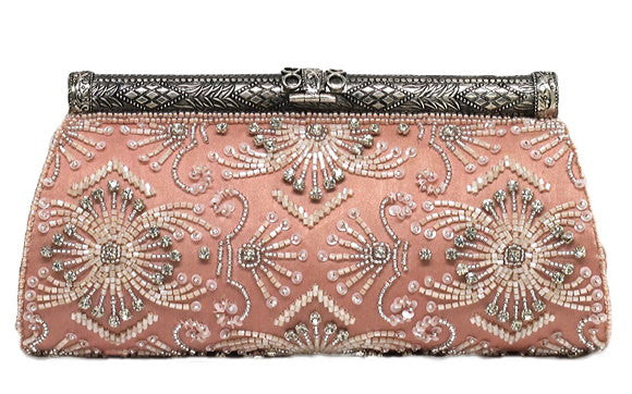 Moyna - Beaded Clutch-allforher.com