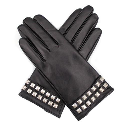 LA FIORENTINA GLOVES - Leather Glove with Studs-allforher.com