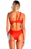 Caffee Swimwear - One Shoulder-allforher.com