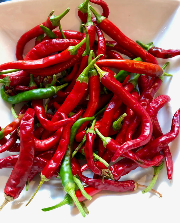 Cayenne chillies