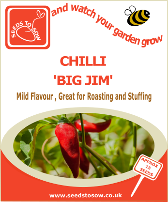 - Collection Box - Some Like it Hot Chilli Seed Collection - Seeds to Sow Limited