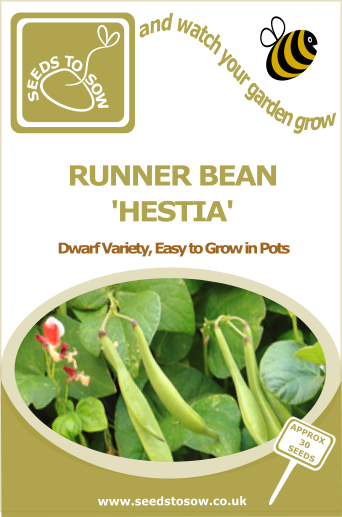 Runner Bean Hestia - Seeds to Sow Limited