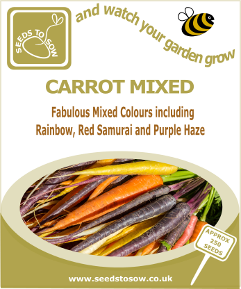 Carrot Mixed - Seeds to Sow Limited