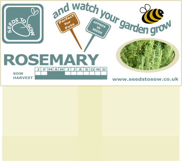 Rosemary - Seeds to Sow Limited