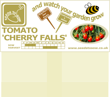 Tomato Cherry Falls - Seeds to Sow Limited