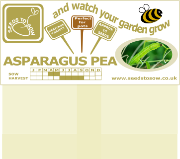 Asparagus Pea - Seeds to Sow Limited