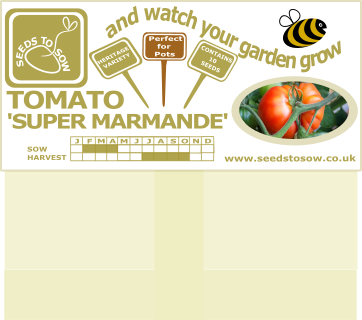 Tomato Super Marmande - Seeds to Sow Limited