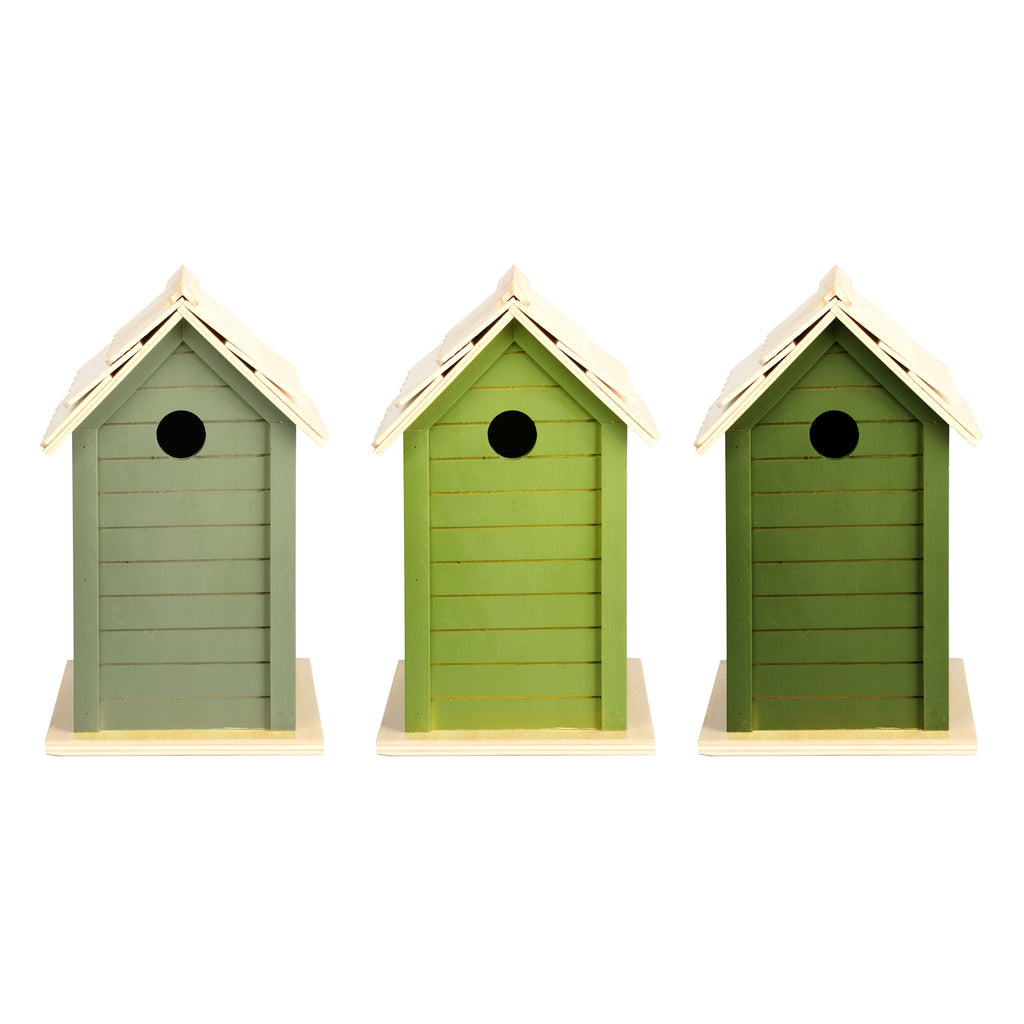 Gifts & Accessories - Green Bird House - Seeds to Sow Limited