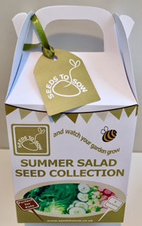 - Collection Box - Summer Salad Seed Collection - Seeds to Sow Limited