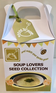 - Collection Box - Soup Lovers Collection - Seeds to Sow Limited