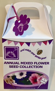 - Collection Box - Annual Mixed Flower Seed Collection - Seeds to Sow Limited