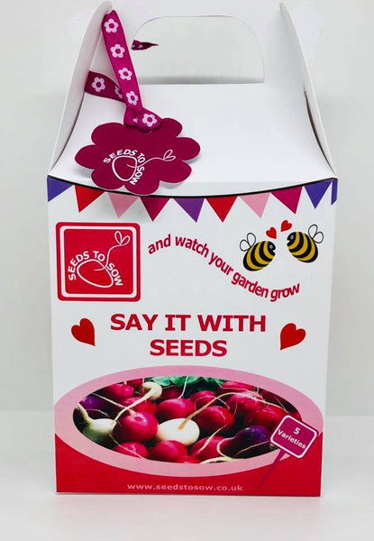 - Collection Box - 'Say it with Seeds' - Seeds to Sow Limited
