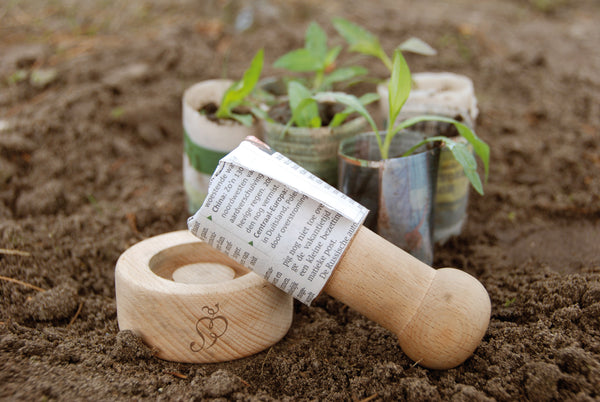 Gift Range - Paper Pot Maker - Seeds to Sow Limited