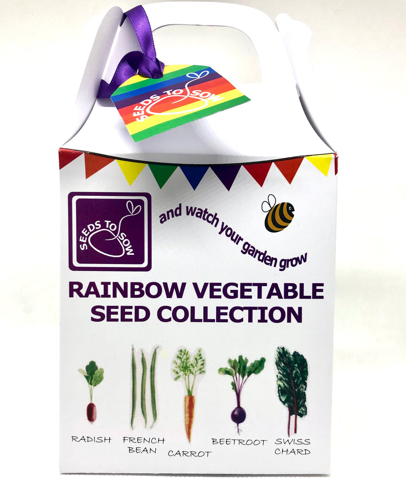 Seed Box - Grow the Rainbow - Seeds to Sow Limited