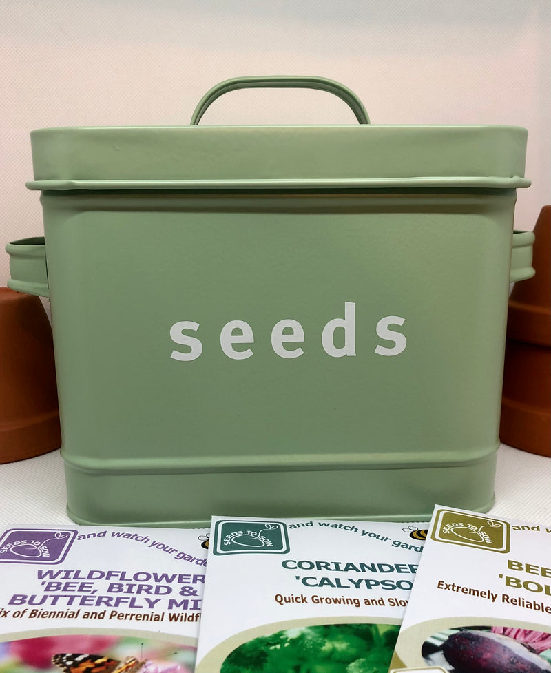 Gifts & Accessories - Seed Storage Tin