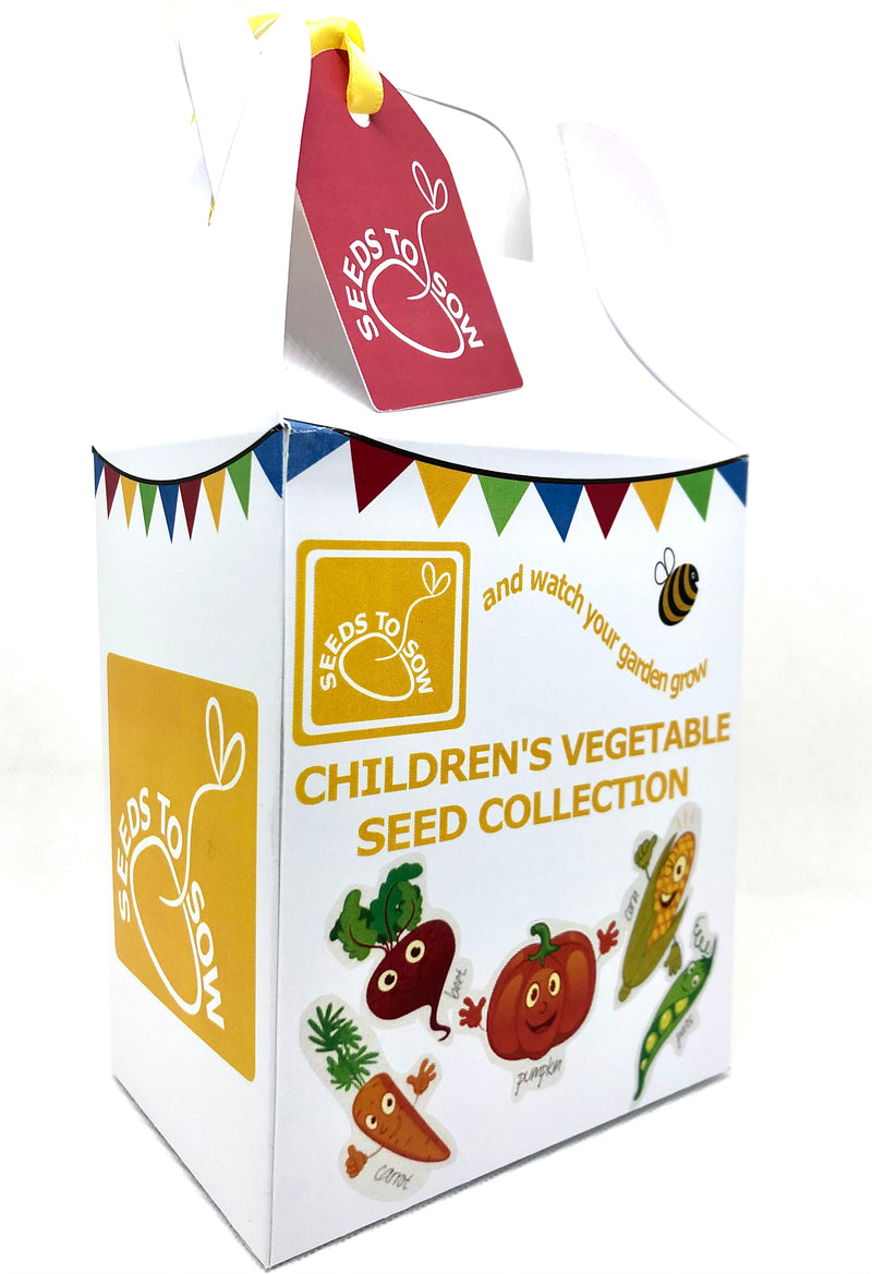 Seed Box - Children's Vegetable Collection - Seeds to Sow Limited