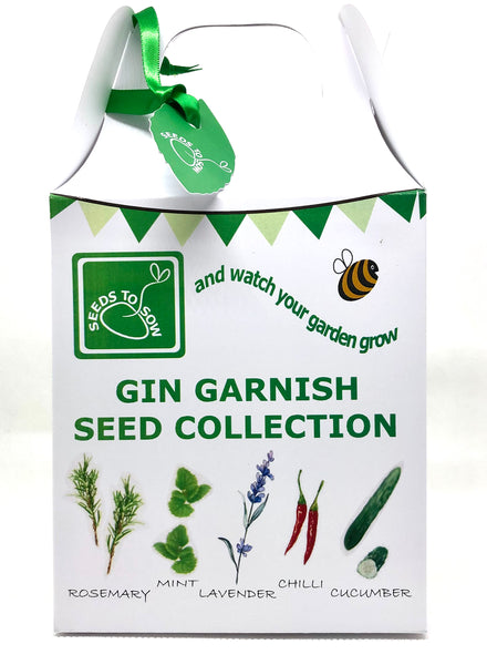 - Collection Box - Gin Garnishes Seed Collection - Seeds to Sow Limited