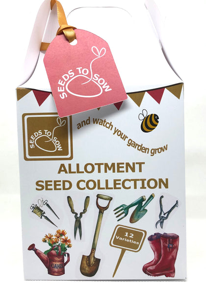 - Collection Box - Allotment Seed Collection - Seeds to Sow Limited