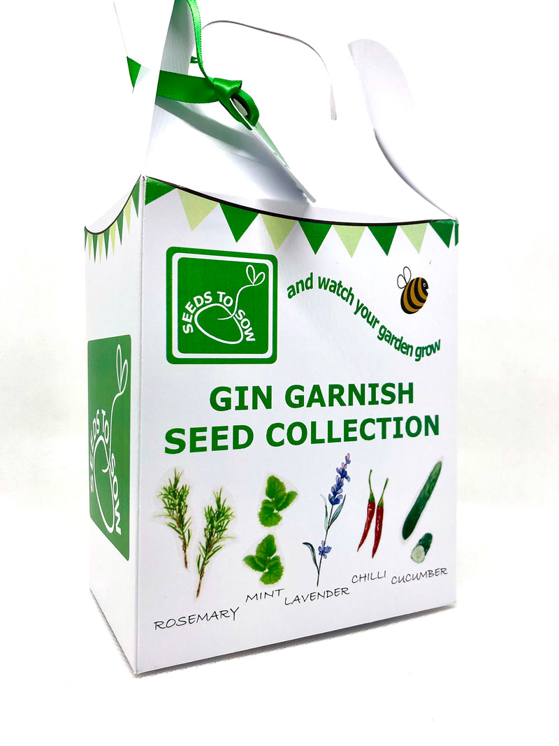 Seed Box - Gin Garnishes Seed Collection - Seeds to Sow Limited