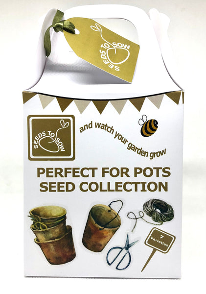 - Collection Box - Perfect for Pots Collection - Seeds to Sow Limited