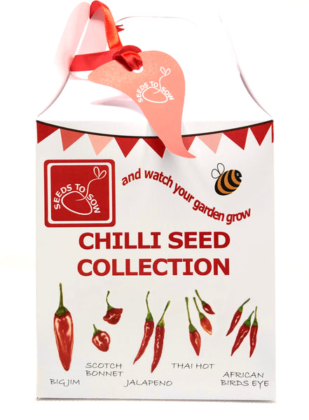 - Collection Box - Chilli Seed Collection - Seeds to Sow Limited