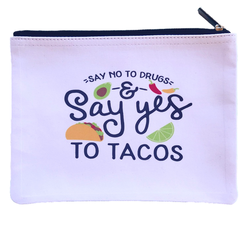 Say Yes To Tacos Pouch