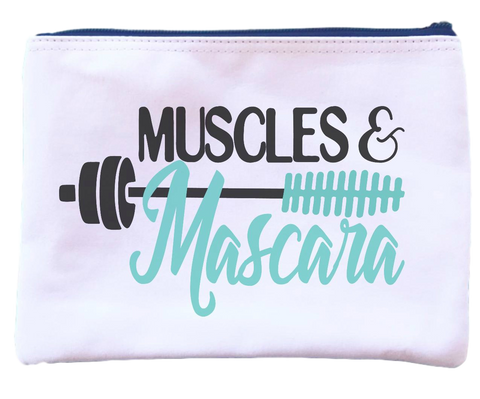 Muscles and Mascara Pouch