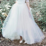 Adele skirt - Dolly Couture Bridal - vintage inspired tea length wedding dresses - customize