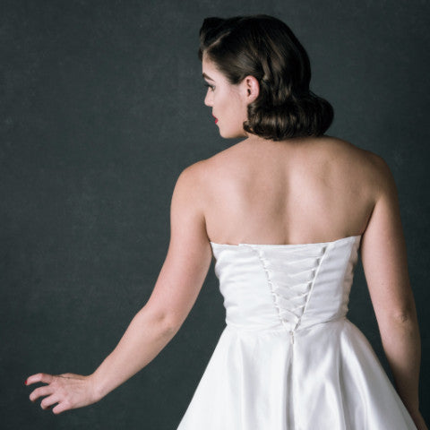 Lace up/Corset - Dolly Couture Bridal